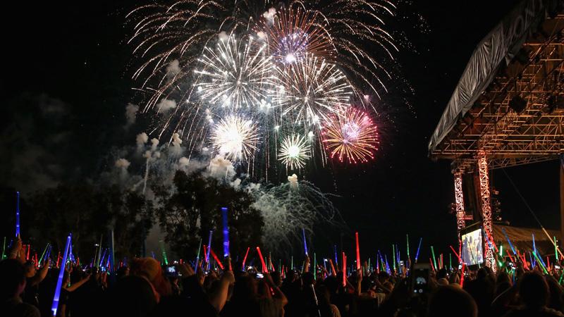 Star Wars Concert - Fireworks
